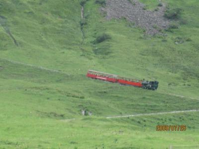 ハイキングを織り交ぜて列車で巡る絶景とデラホを愛でる旅⑰ルツェルン編(1/2)