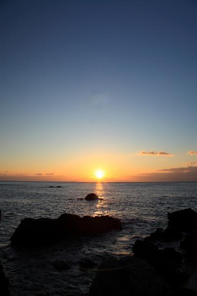 2010年初日の出 室戸岬