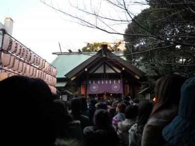 東京大神宮に初詣に行ってきました