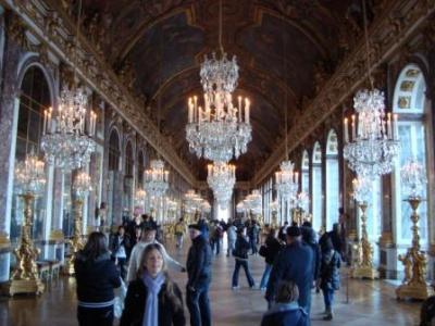 初めての家族揃ってのヴェルサイユ宮殿