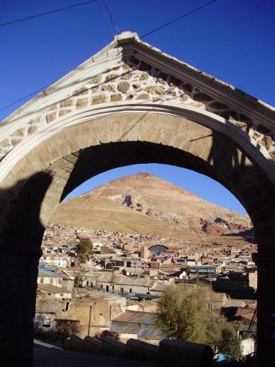 ユネスコの世界遺産:ボリビア国ポトシ市の風景 #3