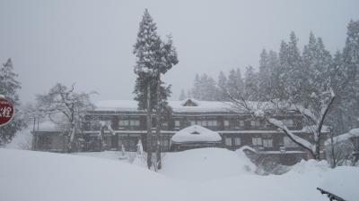 松之山温泉ー雪国マラソン