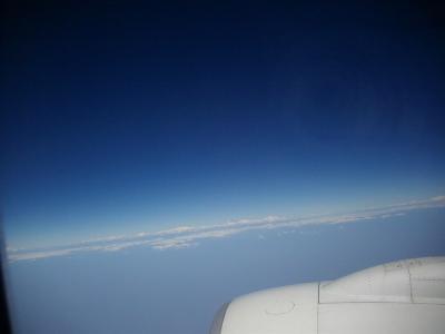27日曜1日目1午前バンコクからネパールのトリプヴァン空港まで