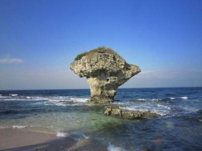 台湾跨年5★小琉球★年越しは離島で~ミントゼリーみたいな海!