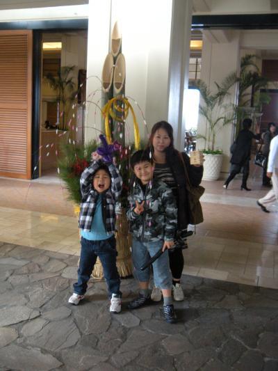 年末年始 沖縄家族旅行3日目(2010年お正月)