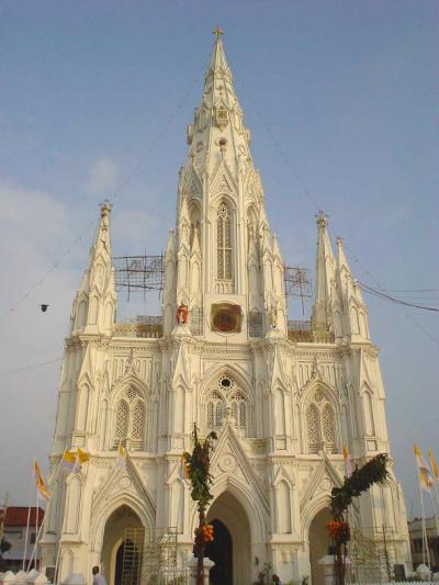 南インド22: 最南端 「キチャナイ街の一服の清涼剤」