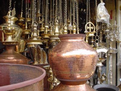 南インド26: トリバンドラム 「秘密寺院門前マーケット」