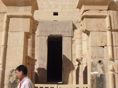 2009年12月エジプト(09) ハトシェプスト女王葬祭殿4/7
