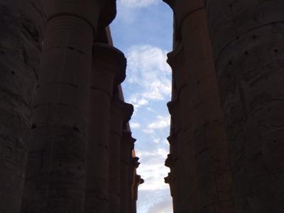 2009年12月エジプト(30) ルクソール神殿3/5