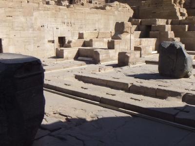 2009年12月エジプト(42) コムオンボ神殿3/4