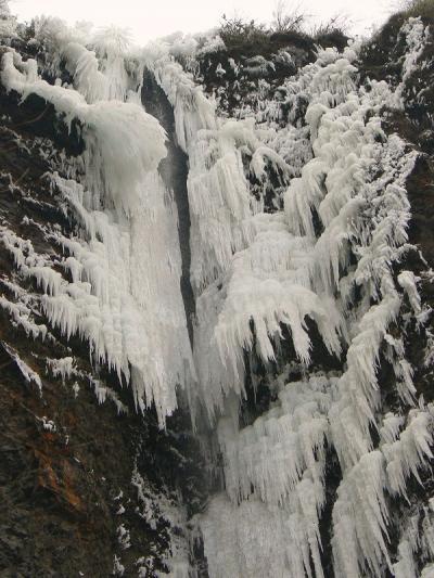 冬の熊本行(1日目)坂梨宿~古閑の滝~阿蘇神社