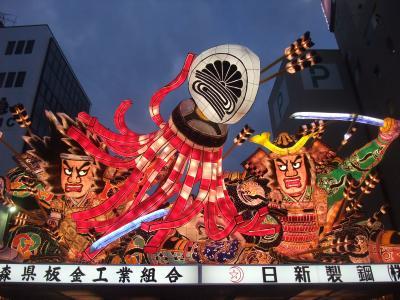 日本縦断ツーリング2009 5日目 ねぶた祭り