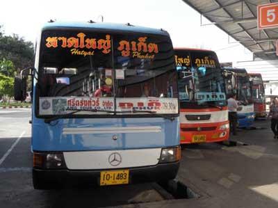 2010年1月/タイ/No.4 - ハジャイのバスターミナル調査 そしてバンコクへ