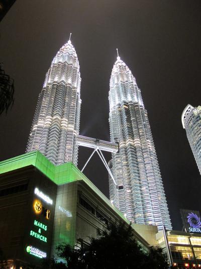 マレーシア旅行記 クアラルンプール到着