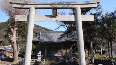 小土肥地区八幡神社のコマちゃん