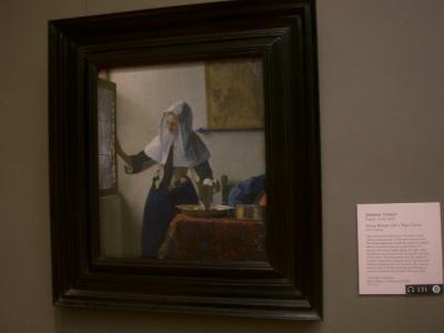 Vermeer が5点もあるMET