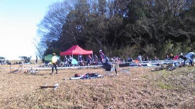 千葉県野田市 移動販売 ホットドッグ 自転車レース出店