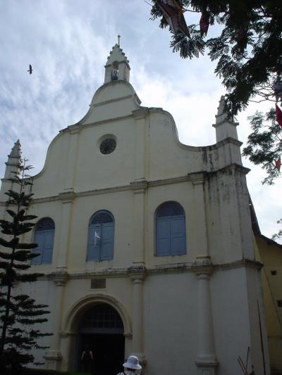 南インド32: コーチン 「聖フランシス教会」と 「スパイス交易」