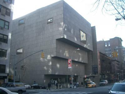 Whitney Museum は四角だった