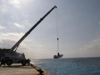 2010年1月沖縄有人島制覇のたび その2 北大東島