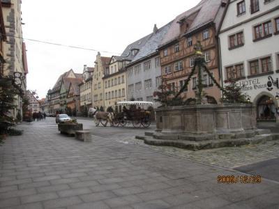 ドイツ・スイス・イタリア・フランス・カミカゼ旅行記(25)ローテンブルグの市内観光。