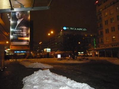 大寒波の中、ポーランドへ。