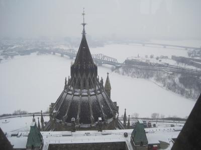 【作成中】真冬のカナダ満喫紀行⑤首都オタワ