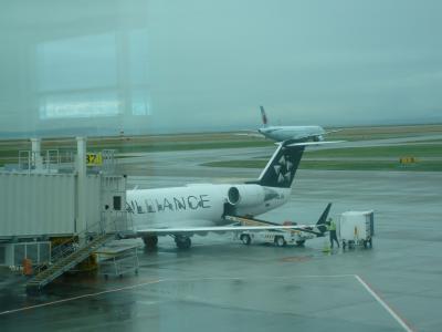 2010年1月 カナダ・韓国旅行 その10:乗り継ぎ空路ホワイトホースへ