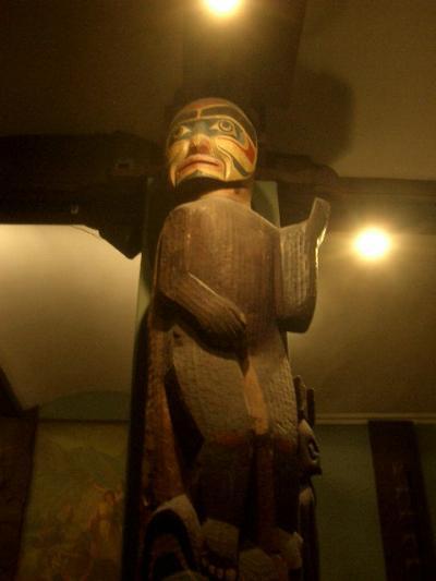 アメリカン・インディアンの作品も面白い−自然史博物館