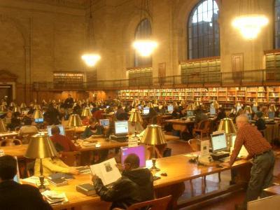 New York Public Library をちょっと見学