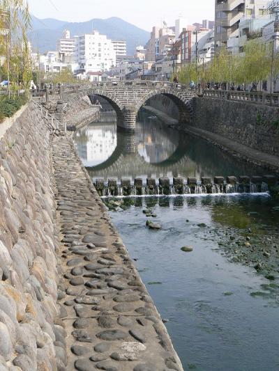 中島川に沿って散歩 前編