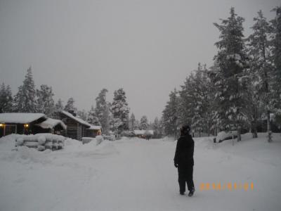 クラッチのフィンランド旅行 其の一 サーリセルカへ