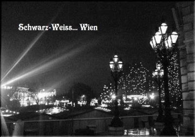 Schwarz-Weiss モノクロームのウィーン Nr.2
