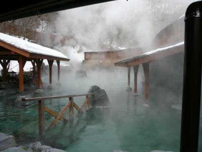 2010 草津温泉旅行 2日目(最終日) 西の河原露天風呂