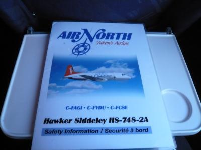 2010年1月 カナダ・韓国旅行 その21:Hawker Siddeley(ホーカー・シドレー)HS-748