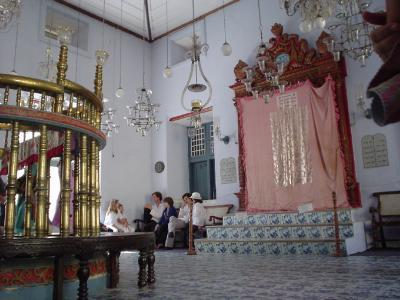 南インド34: コーチン 「シナゴーグ」 と 「王宮博物館」