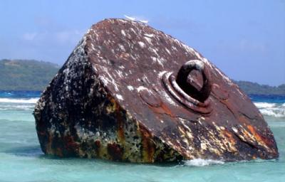 チューク環礁 夏島戦跡巡りへ