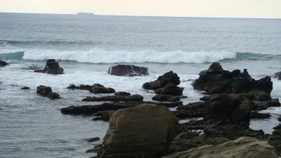 白浜根本海岸付近の奇岩探し