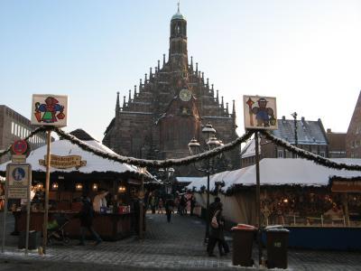ニュルンベルグ 極寒のクリスマスマーケット