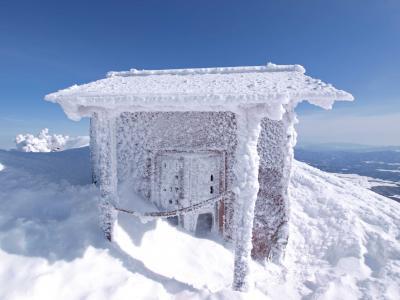 厳冬期の日本百名山「四阿山」