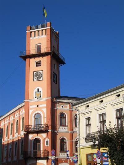 2009年ウクライナ旅行第12日目(1)コロミーヤ:高層ビルがない居心地良い地方都市一人歩き