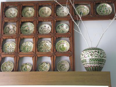 2009年ウクライナ旅行第12日目(4)コロミーヤ:象嵌木細工や緑の陶器がすばらしいフツル(ウクライナの山岳民族)民族芸術博物館・前編