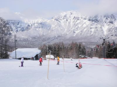2010年 戸隠スキー場にて初スキー!