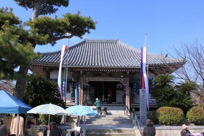 岸和田市の久米田寺参拝 梅の花が気になりますが・・・。