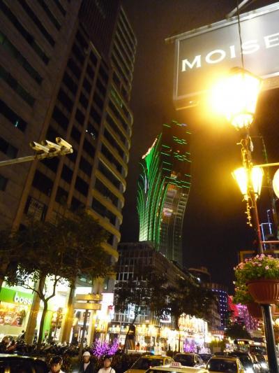 旧正月のマカオから香港へ