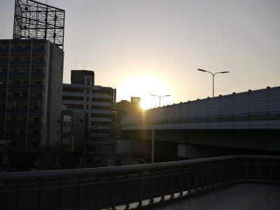 堺市 堺東での夕焼け編