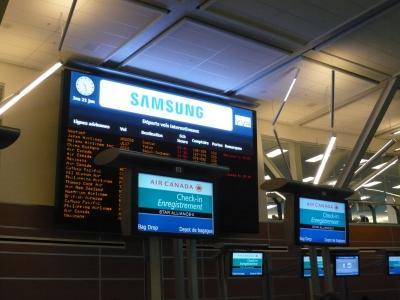 2010年1月 カナダ・韓国旅行 その41:帰国便にチェックイン