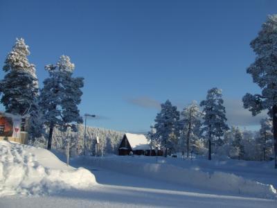 フィンランド・オーロラ旅行