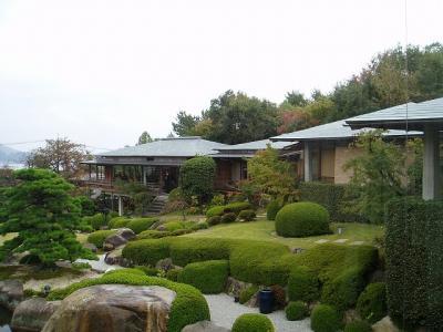 2009年10月 秋の安芸へ 広島旅行その3 庭園の宿 石亭②