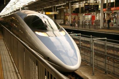 500系を乗りに福岡まで(東京~大阪編)